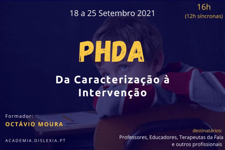 PHDA: Da Caracterização à Intervenção